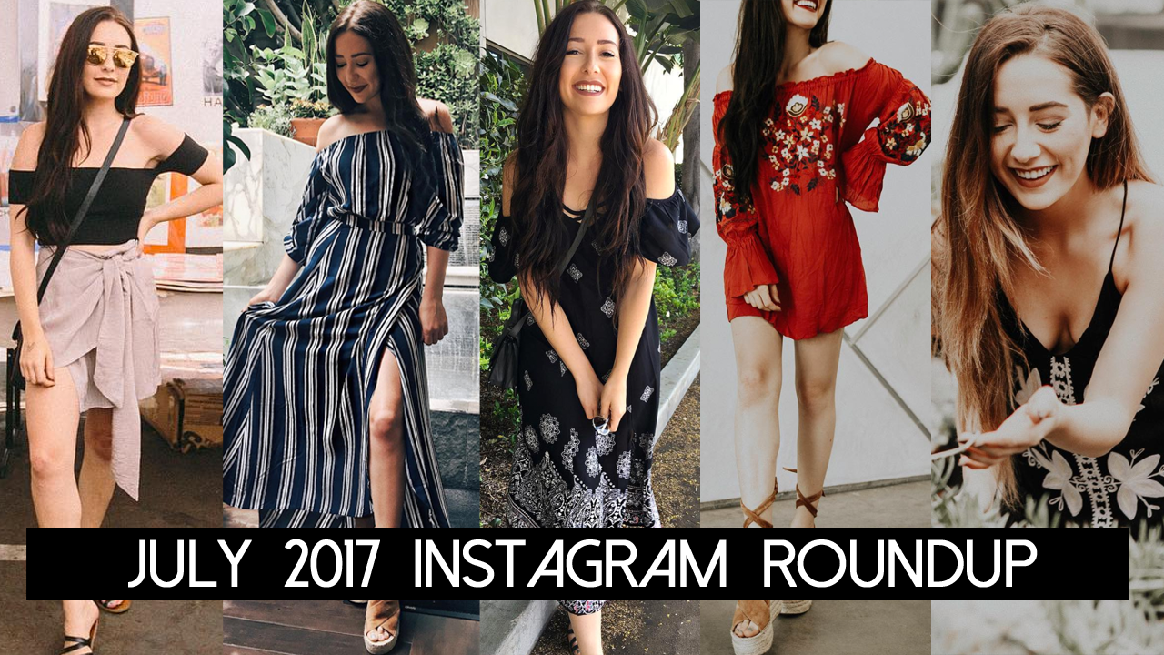 July 2017 Instagram Roundup