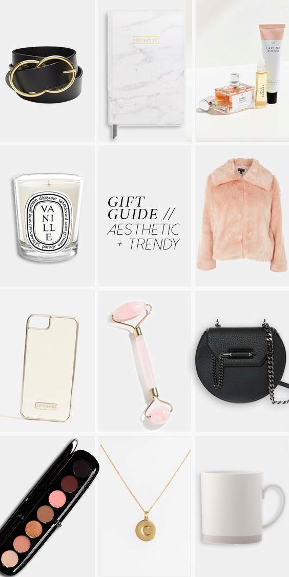 GIFT GUIDE: THE AESTHETIC & TRENDY ONE