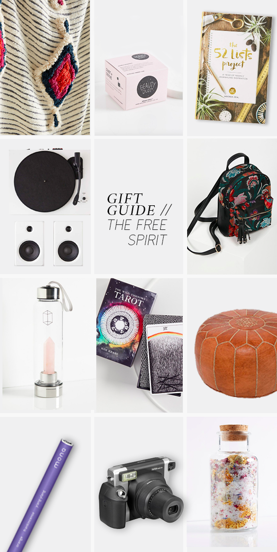 GIFT GUIDE: THE FREE SPIRIT